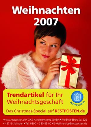Weihnachts-Anzeige 2007