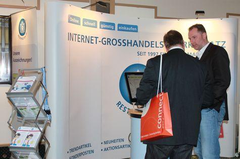 RESTPOSTEN.de auf dem Onlinehändler-Treffen